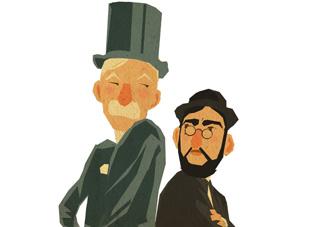Chéret vs Lautrec (c) Valentin Colcomb