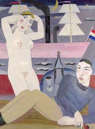 G. DE SMET, De Zeearend (detail), 1926