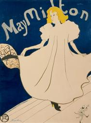 H. de Toulouse-Lautrec, May Milton, 1895