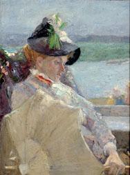J. TOOROP, La dame à l'ombrelle-Dame met parasol, (detail), s.d