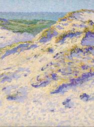 A. BOCH, Dunes au soleil- Duinen in de zon, 1903