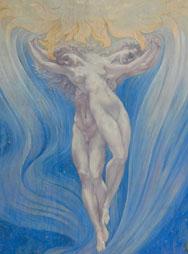 J. DELVILLE, l'Amour des âmes-de Liefde der zielen, 1900